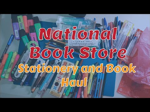 Stationery and Book Haul December 2017 - National Book Store, Office Warehouse, SM Stationery