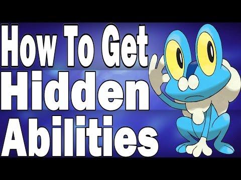 How To Get Hidden Abilities In Pokemon X And Y