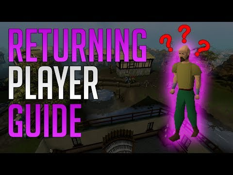 Runescape 3 – Guide for returning players