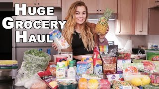 GIANT First Grocery Haul | Healthy Food For New Home!