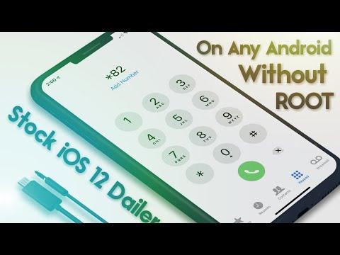 Dialer Ios 12 Style Apk