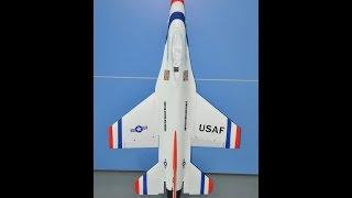 RC F-16  Foam THREAD LISTS & FREE PLANS
