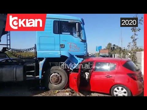 Download Pamjet nga aksidenti i rende me bilanc tragjik, 1 i vdekur e 2 te plagosur
