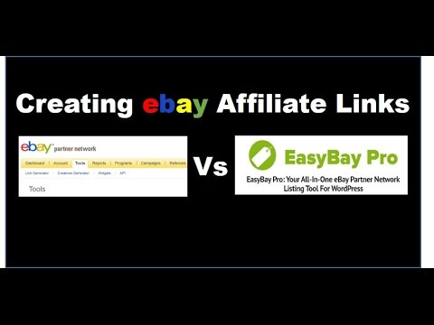 How To Create EBay Affiliate Links