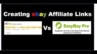 How to Create EBay Affiliate Links
