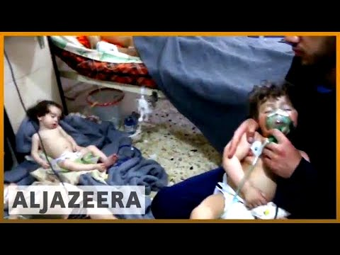 ☢️ Suspected chemical attack 'kills 70' in Syria's Douma | Al Jazeera English