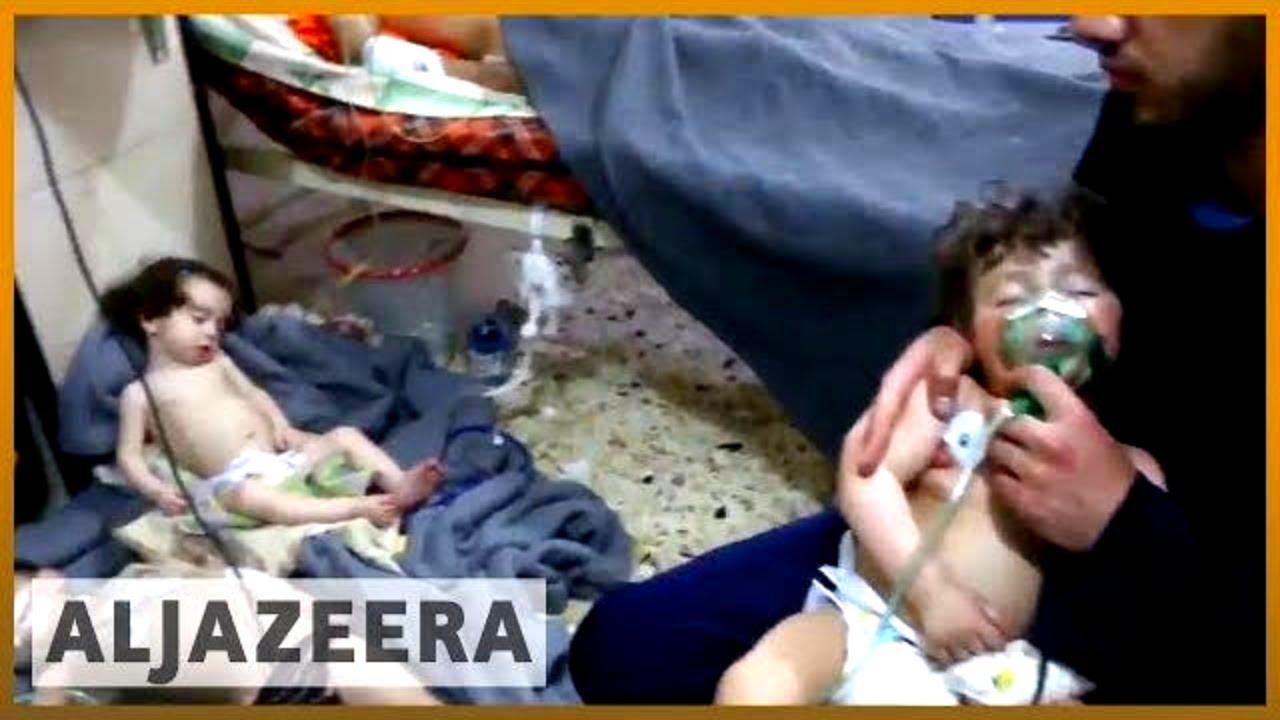 ☢️ Suspected chemical attack 'kills 70' in Syria's Douma | Al Jazeera English