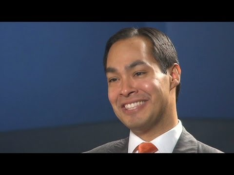 Julian Castro is the Democrats rising star at the DNC