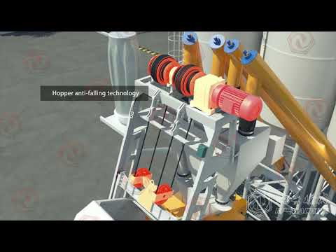 EP--Modular container concrete batching plant installation and introduction video