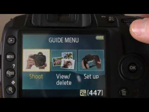 Обзор Nikon D3000 - YouTube