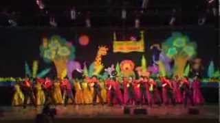 Katte Katte Nee - Dance Performed By Lokpuram Public School.