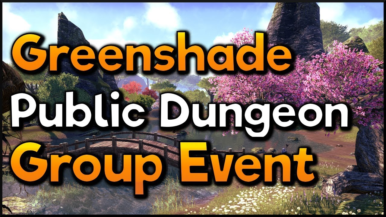 Eso Greenshade Public Dungeon