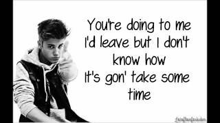 Justin Bieber - Thought Of You ( Lyrics )