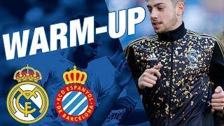 Real Madrid 2-0 Espanyol | Pre-match warm up