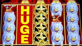 ★SUPER BIG WIN★ Gold Bonanza Slot Machine $6 Max Bet Bonuses | HUGE LINE HIT | Live Slot w/NG Slot