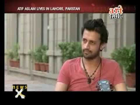 Atif Aslam's - Interview about Art Talk_ (Playback and Pop Singer) - Part 1 By Aadeez Lover's !!