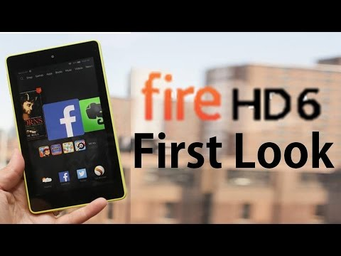 A Look at the Kindle Fire HD 6
