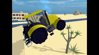 Jumping tractor - Animated fun for kids, with nursery rhymes