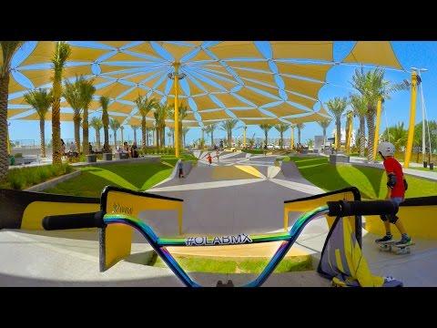 BMX RIDING AT DUBAI'S BEST SKATEPARK!!