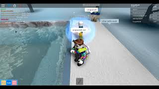 trolling in swim for admin(roblox)*Players kidnapping me in-game*