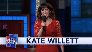 Kate Willett Performs Stand Up