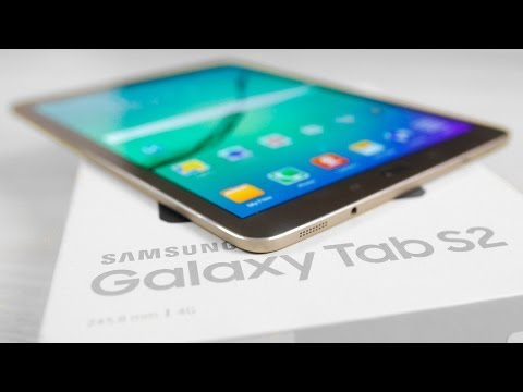 Galaxy Tab S2 9.7 - Unboxing & Hands On!