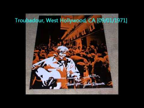 John Denver  Troubadour, West Hollywood, CA 09011971