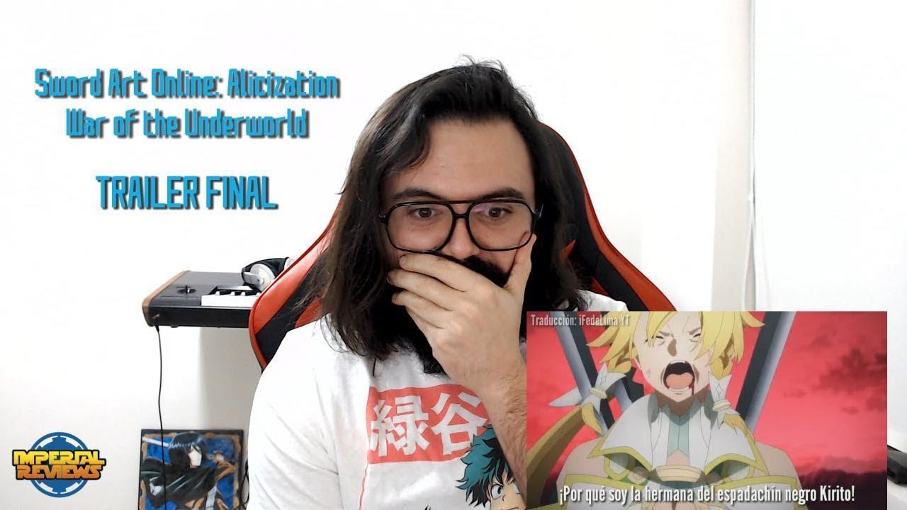 TRAILER FINAL | Sword Art Online Alicization War of Underworld 2 - REACCION!!!