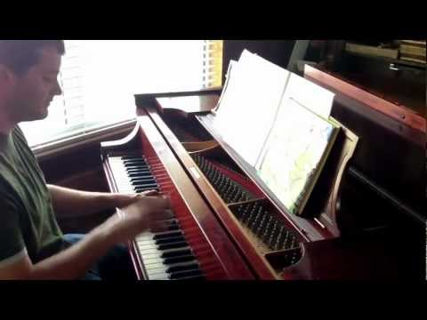 "Macklemore's ""Thrift Shop"" - Piano Jazz Cover on Steinway Baby Grand by Andrew Allen"