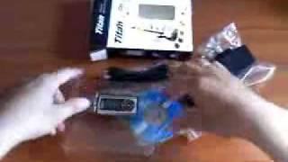 Reproductor MP3 Titan mod.039 con Batería Recargable Transmisor FM