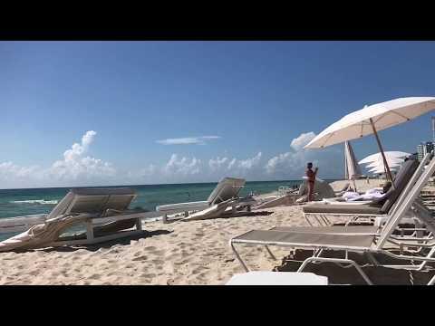 Playa y piscinas del Eden Roc - Miami Beach
