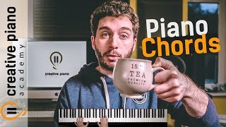 PIANO CHORDS: The ULTIMATE Step-by-Step Guide For Beginners [IN REAL TIME]