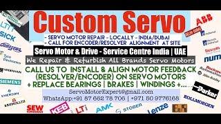 Custom Servo Dubai Servo Motor Encoder Resolver Heidenhain Repair UAE Kuwait Bahrain Oman Saudi KSA
