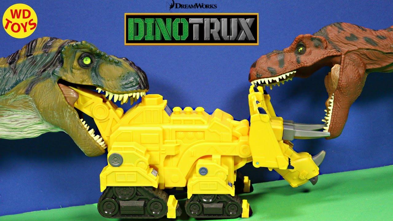 Trucks R Us >> New Dinotrux Sounds & Phrases Dozer Dinosaur Trucks Vs ...