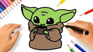 How To Draw Baby Yoda Step By Step Herunterladen
