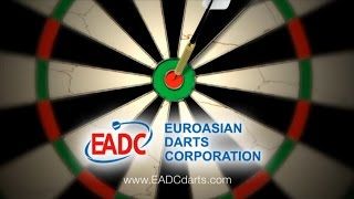 2017 World Darts Champ EADC Qualification 3rd quarterfinal Pontus v Kolesov