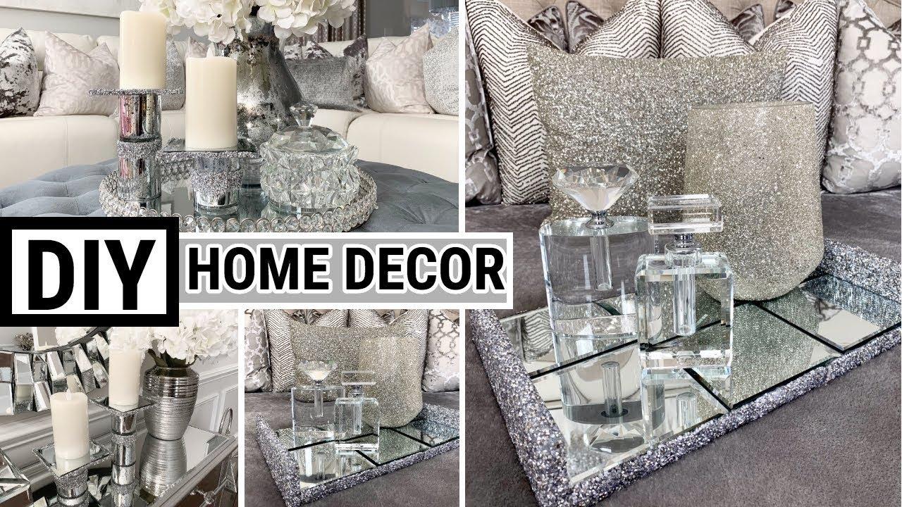 Diy Home Decor Ideas Dollar Tree Diy Mirror Decor Youtube