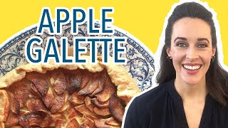 Jacques Pepin Country Apple Galette Baking Demo: How to Make a French Apple Pie