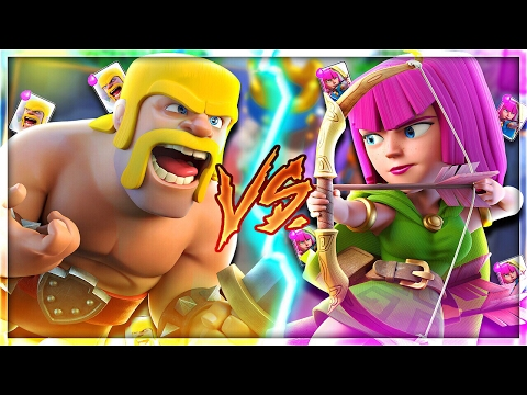 BOYS vs GIRLS! | WHICH TROOPS WILL WIN in Clash Royale!?