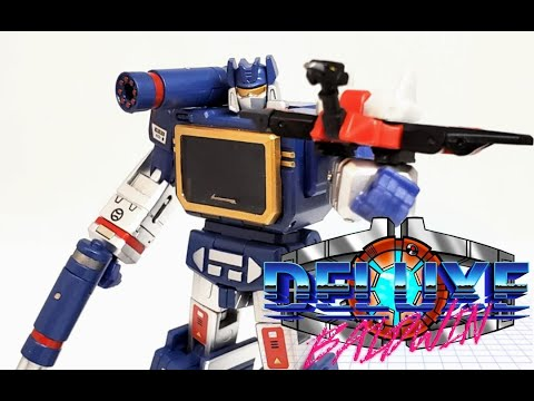 NewAge Toys 21EX Scaramanga Legends Color G1 Soundwave Review by Deluxe Baldwin
