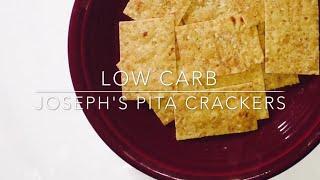 Low Carb Josephs Pita Crackers THM S Style