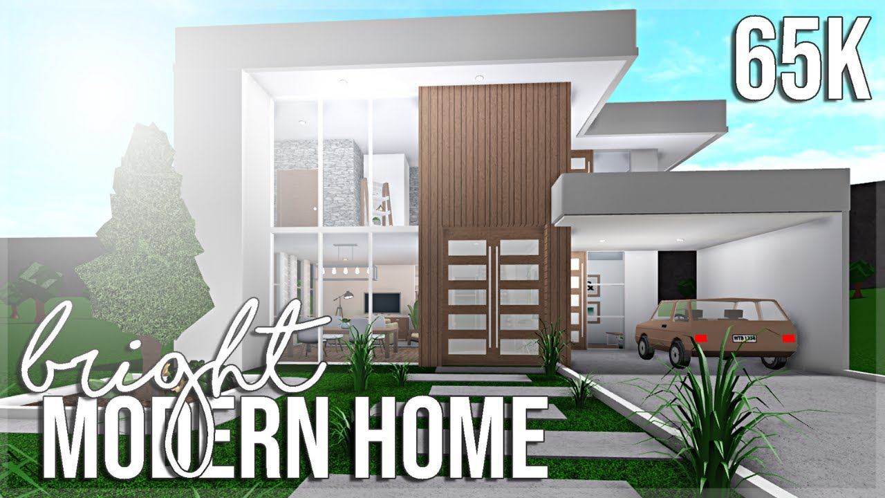 Bright Modern Home 65k - YouTube