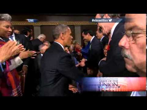 President Obama snubs Rep. Eliot Engel at Sate of the Union.