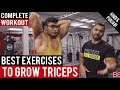 Best EXERCISES to grow TRICEPS! BBRT #42 (Hindi / Punjabi)