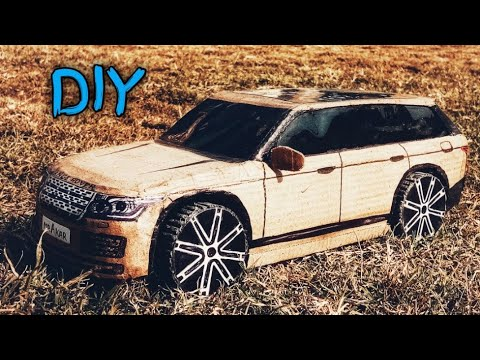 How To Make A Car | Range Rover | Cardboard Craft RC Car | DIY Rc Toy