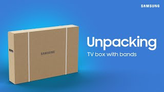 """How To Unbox Your 2021 Samsung 55"""" - 75"""" QLED TV 