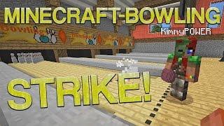 STRIKE! | Minecraft-bowling (utan mods)