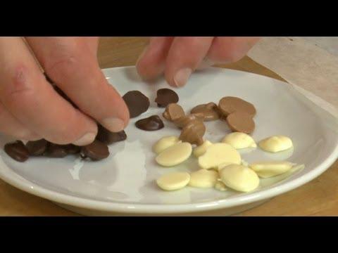 faire-des-pépites-en-chocolat