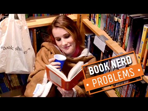 Book Nerd Problems | Trying to Live in a Bookstore