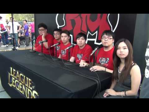 Taipei Assassins press conference